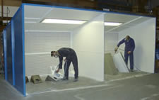Double Spray Paint Booths