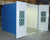 Spray Paint Booths with Doors + Inlet Filters