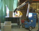 Mobile Welding Fume Extraction